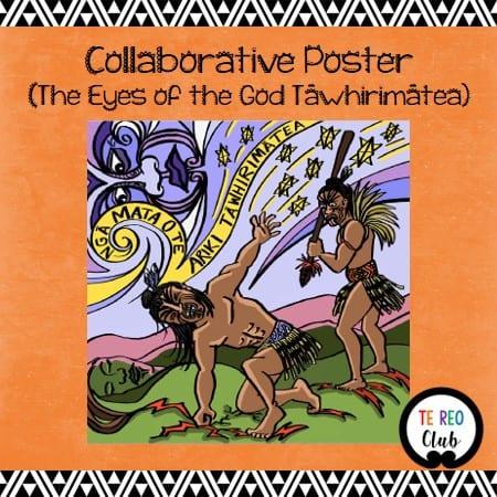 collaborative poster matariki tawhirimatea