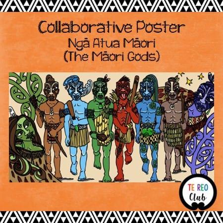 collaborative poster maori gods nga atua